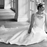 Bridal portrait leicestershire
