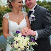 Rothley Court wedding bride groom bouquet