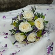 bridal bouquet Leicestershire wedding photo