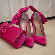 mother of the bride shoes handbag wedding photo