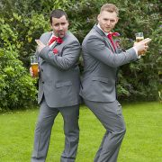 charlie's angels pose wedding photography Sketchley Grange Hinckley