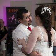 Sketchley Grange first dance groom happy