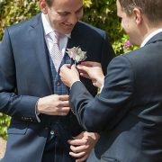 best man buttonhole Rachael Ince