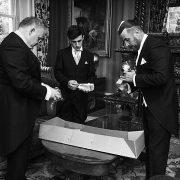Kilworth House Hotel flowers buttonhole groom best man