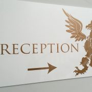 boutique hotel leicester winstanley reception sign