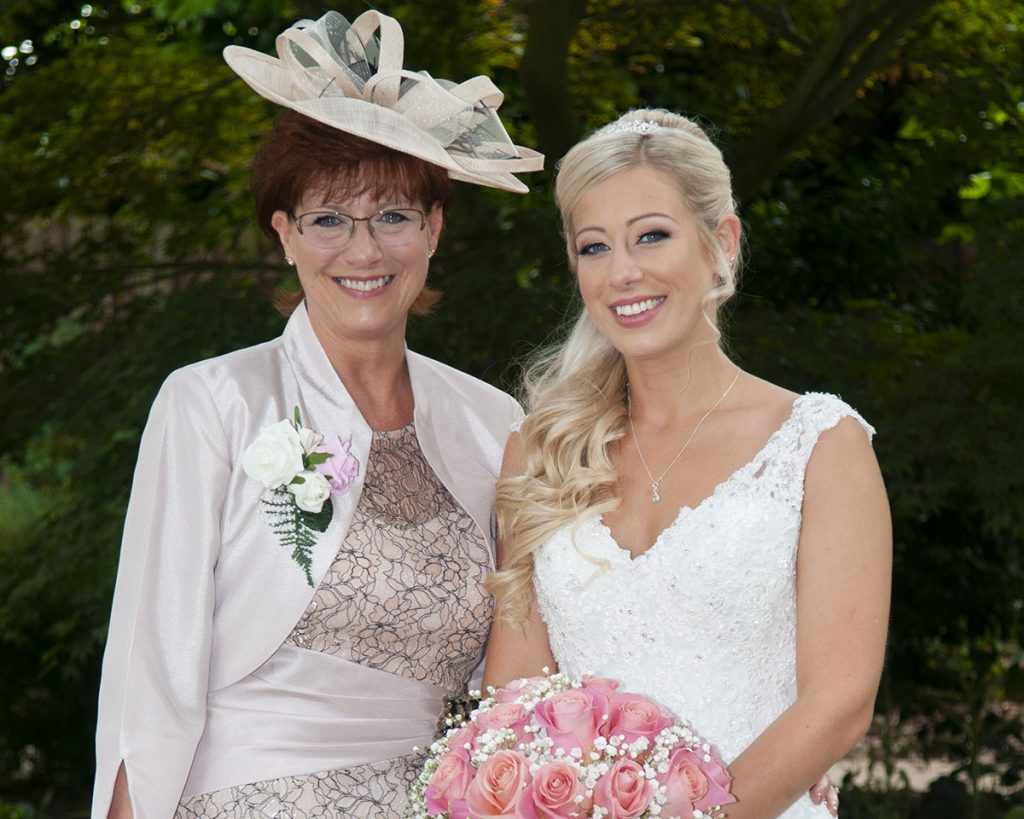 bride, Laura Welbourn, and mother Julie Sadio, wedding day, Leicestershire wedding photographer, Rose Tinted Photos
