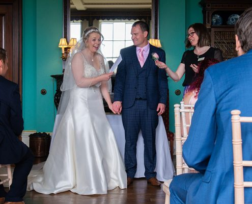 marriage notice Leicestershire wedding marriage certificate prestwold hall jo ford damien ford